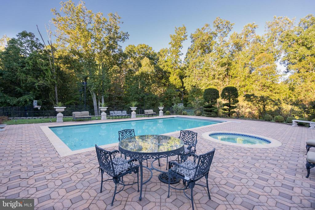 Swimming Pool/Patio Area - 9333 BELLE TERRE WAY, POTOMAC