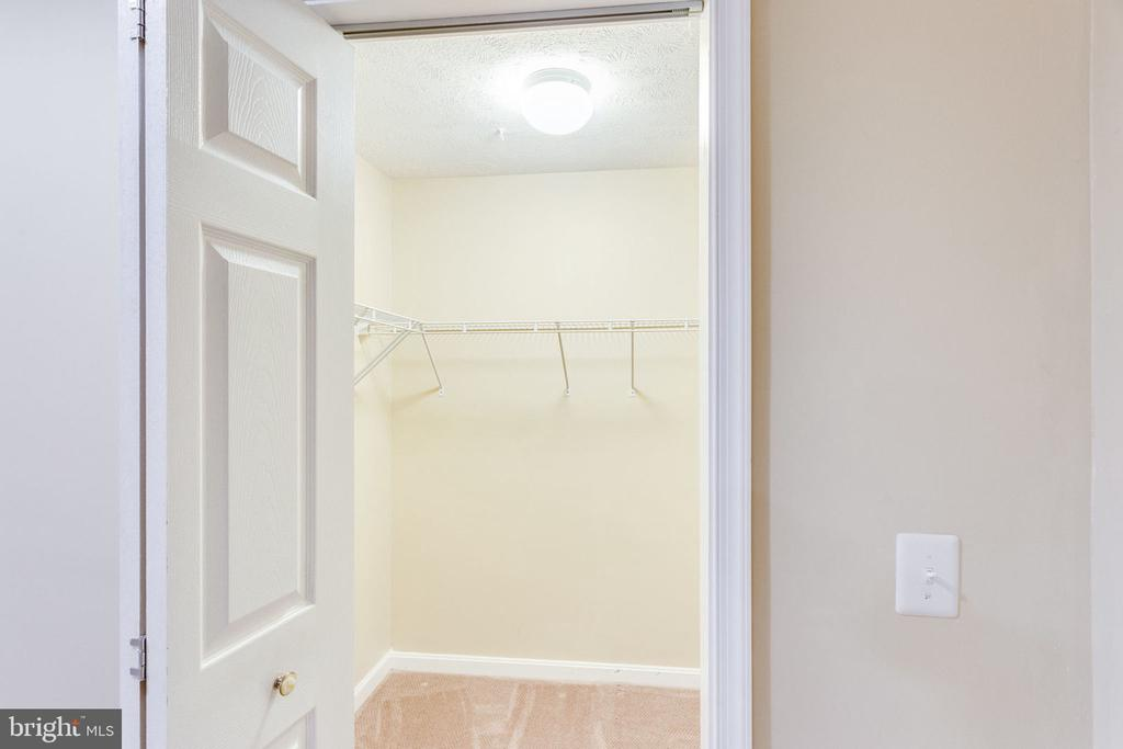 LOWER LEVEL WALK IN CLOSET - 7452 RIDGE OAK CT, SPRINGFIELD