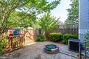 GARDEN LIKE SETTING WITH GAS FIREPIT - 7452 RIDGE OAK CT, SPRINGFIELD