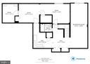 Basement floor plan - 6806 HATHAWAY ST, SPRINGFIELD
