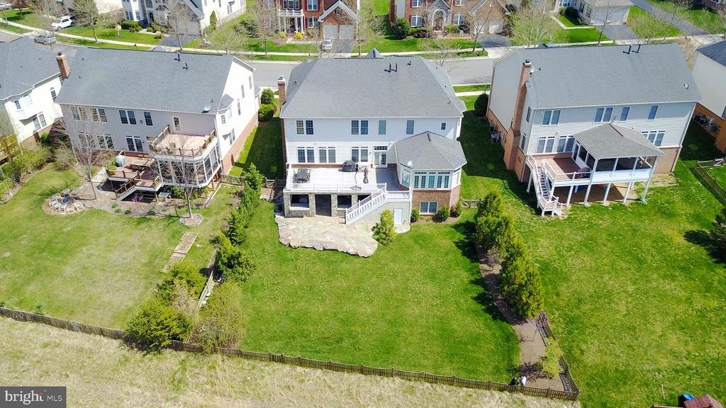 Future Potential Backyard Without Pond. - 43896 RIVERPOINT DR, LEESBURG