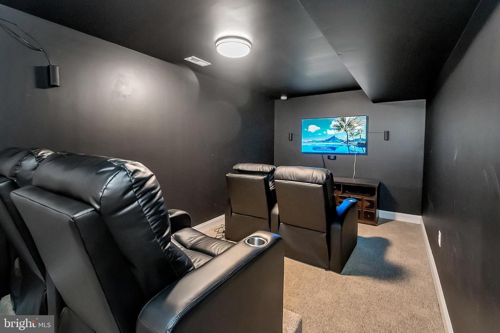 Movie Night will be great in this Media Room - 41 KESTRAL LN, FREDERICKSBURG