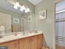 Hall bath - 206 LAYLA DR, MIDDLETOWN