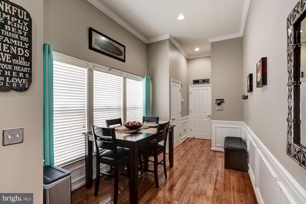 Breakfast Nook just off the kitchen - 25046 MINERAL SPRINGS CIR, ALDIE