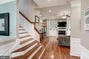 Cascading stairway. Beautiful open layout - 25046 MINERAL SPRINGS CIR, ALDIE