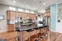 Custom Maple Cabinetry - 25046 MINERAL SPRINGS CIR, ALDIE