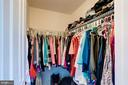 2nd walk in closet in master - 25046 MINERAL SPRINGS CIR, ALDIE