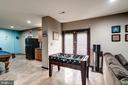 LL w/ wet bar, cust. acid washed concrete floors - 25046 MINERAL SPRINGS CIR, ALDIE