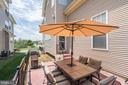 brick patio for entertaining - 25046 MINERAL SPRINGS CIR, ALDIE
