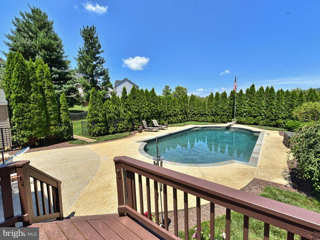 ...or take a dip in the Gunite, heated pool - 206 LAYLA DR, MIDDLETOWN