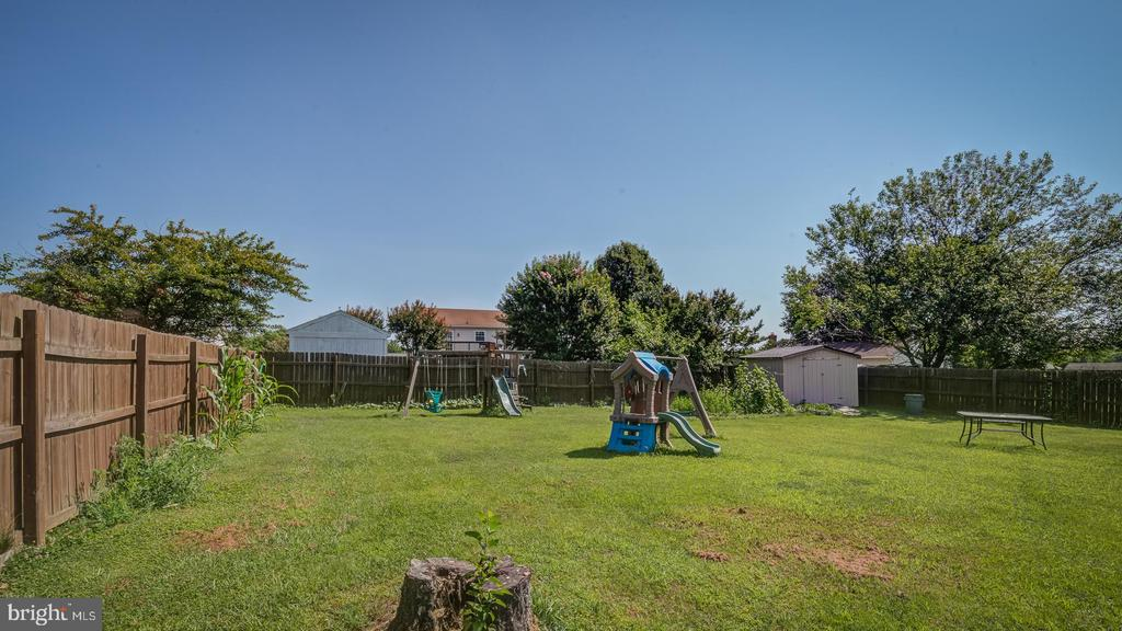 Backyard - 1219 DEWBERRY DR, FREDERICKSBURG