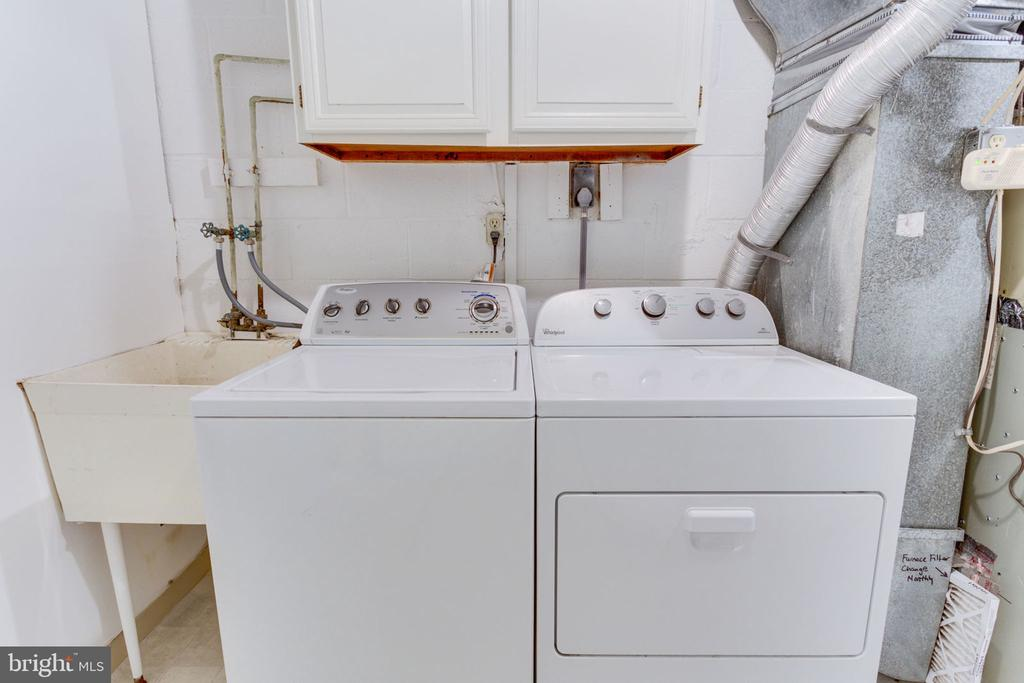 Large laundry/utility/storage room - 1726 CY CT, VIENNA