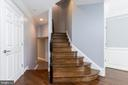 Stairs down to garage and up to main level - 12079 KINSLEY PL, RESTON