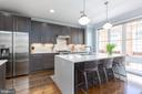 Remarkable designer kitchen! - 12079 KINSLEY PL, RESTON