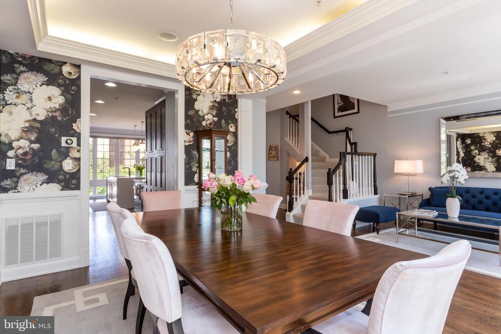 Stunning formal dining area! - 12079 KINSLEY PL, RESTON