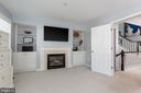 Fireplace in master bedroom! - 12079 KINSLEY PL, RESTON