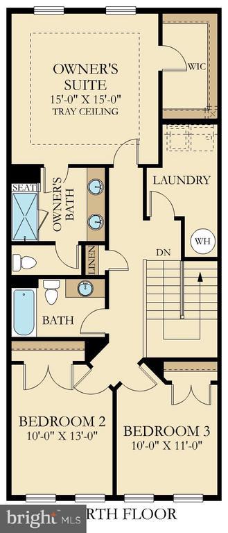 Floor Plan - 20754 WOOD QUAY DR, STERLING