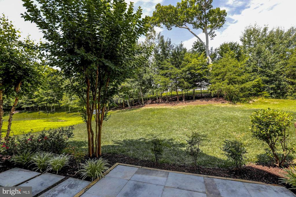 Lush backyard viewing Old Hickory Golf - 4793 CHARTER CT, WOODBRIDGE