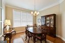Dining Room - 15233 BRIER CREEK DR, HAYMARKET