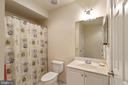 Lower Level Third Full Bathroom - 15233 BRIER CREEK DR, HAYMARKET