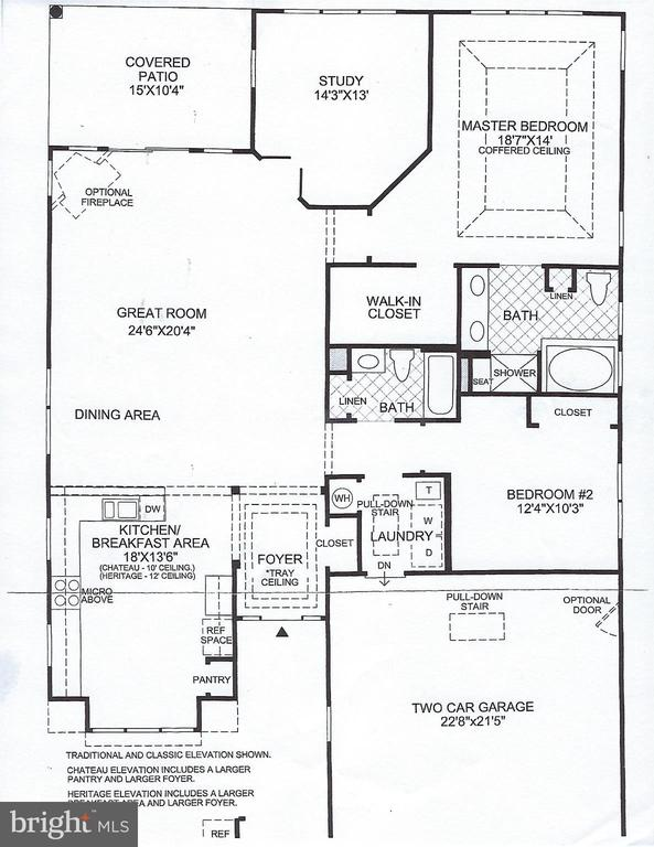 Floor Plan - 15233 BRIER CREEK DR, HAYMARKET