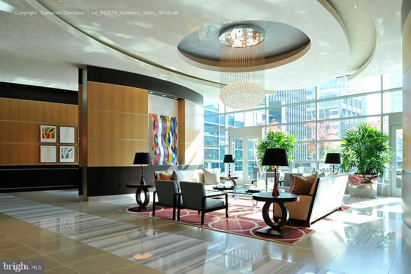 Turnberry Lobby - 1881 N NASH ST #2009, ARLINGTON