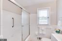 Main level Full Bathroom - 5202 CEDAR RD, ALEXANDRIA