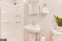 Full Bathroom in Master Bedroom - 5202 CEDAR RD, ALEXANDRIA