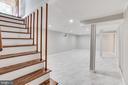 Stairways to Lower Level - 5202 CEDAR RD, ALEXANDRIA