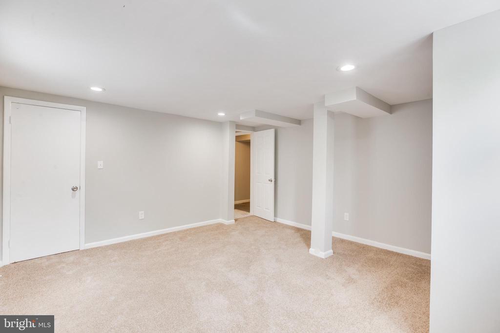 Lower Level Bedroom - 5202 CEDAR RD, ALEXANDRIA