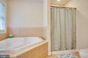 Upper level bath with soaker tub - 12401 TOWER RD, UNIONVILLE