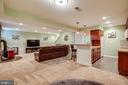 Finished basement with kitchen - 12401 TOWER RD, UNIONVILLE