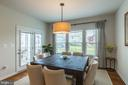 The breakfast room. - 17462 SPRING CRESS DR, DUMFRIES