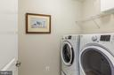 Walk in Laundry Room - 17462 SPRING CRESS DR, DUMFRIES