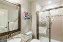 Lower level bath - 17462 SPRING CRESS DR, DUMFRIES