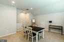 The upper loft, hobby room or 2nd home office - 17462 SPRING CRESS DR, DUMFRIES