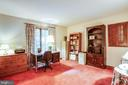 Main level bedroom or office - 9708 COURTHOUSE RD, SPOTSYLVANIA