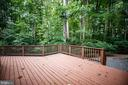 Big deck great for entertaining - 9708 COURTHOUSE RD, SPOTSYLVANIA