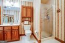 Master bath w/separate shower - 9708 COURTHOUSE RD, SPOTSYLVANIA