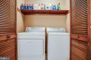 Main level laundry area - 9708 COURTHOUSE RD, SPOTSYLVANIA