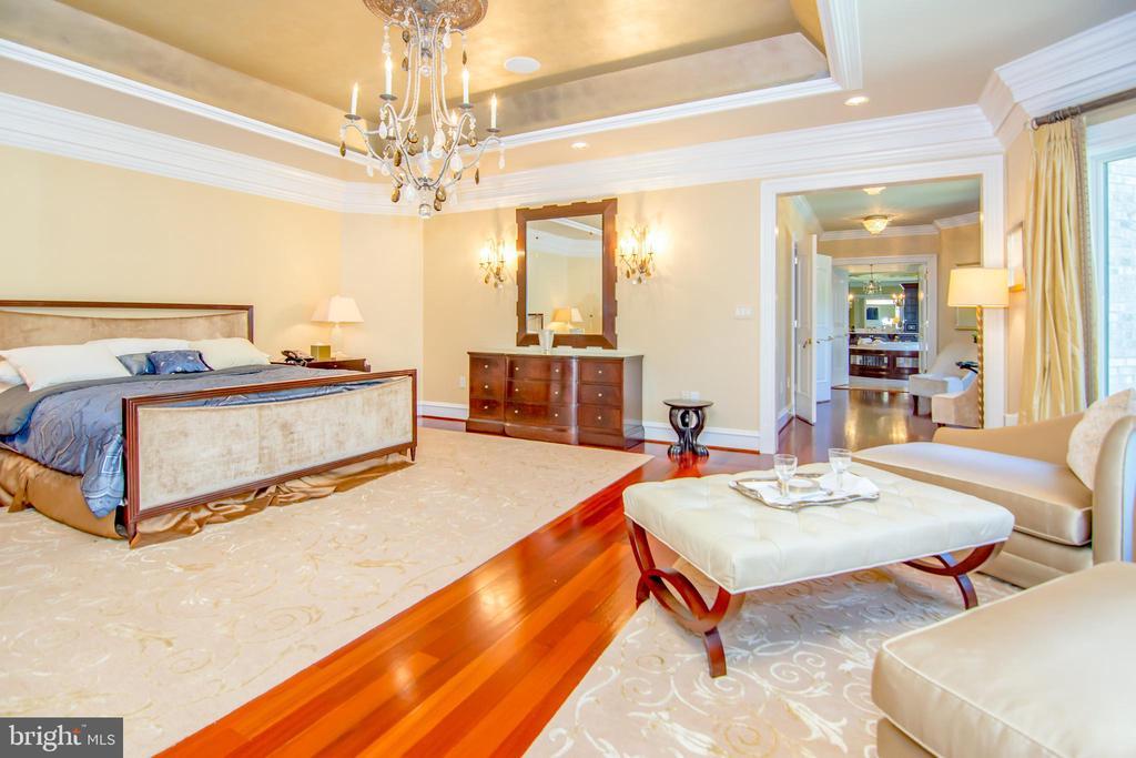 Master bedroom - 529 SPRINGVALE RD, GREAT FALLS