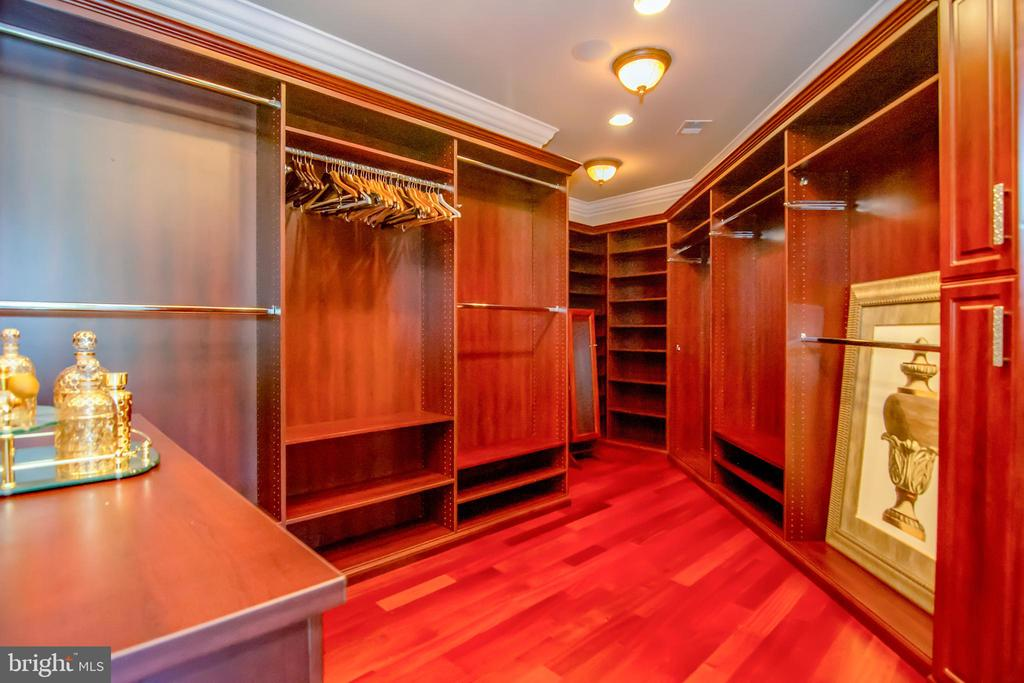 One of the master closets - 529 SPRINGVALE RD, GREAT FALLS