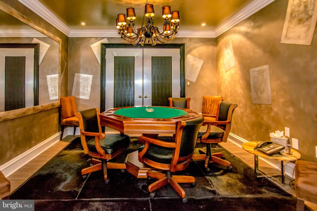 Basement card / game room - 529 SPRINGVALE RD, GREAT FALLS