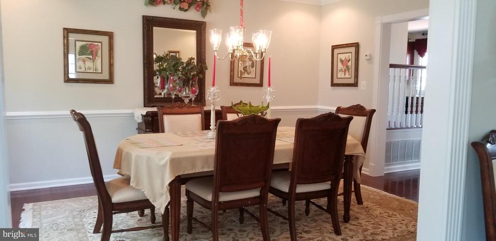 Dining Room - 43572 WARDEN DR, STERLING