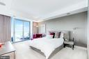 Master Bedroom with Views - 1881 N NASH ST #1702, ARLINGTON