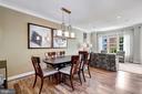 Formal Dining Room - 806 N WAKEFIELD ST, ARLINGTON