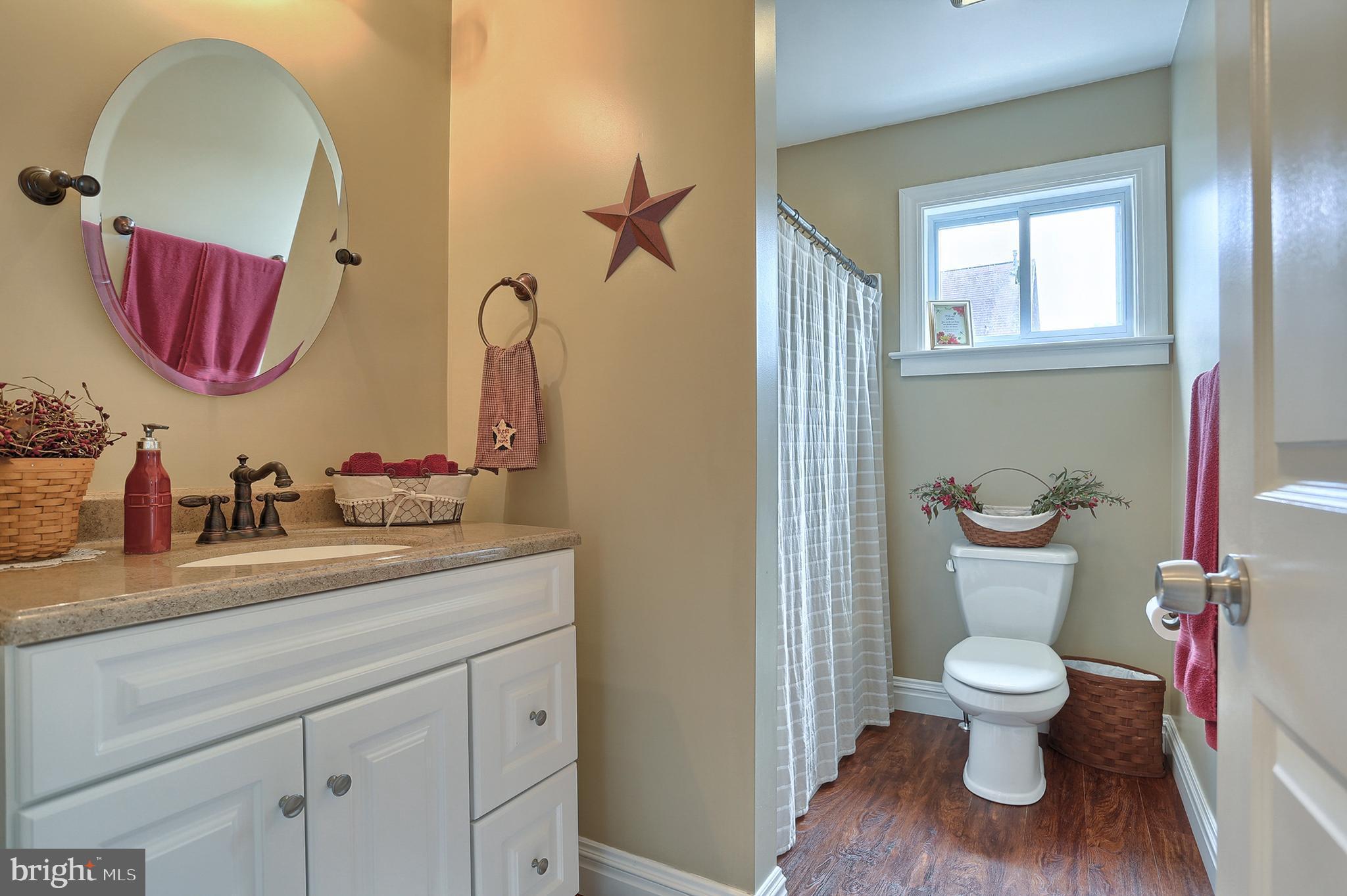 Master Bathroom on Suite