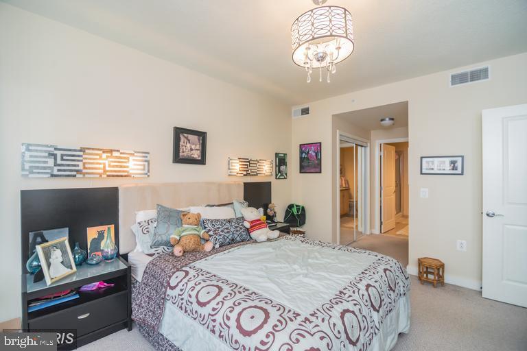 Large master suite with en suite bath and walk ins - 888 N QUINCY ST #811, ARLINGTON