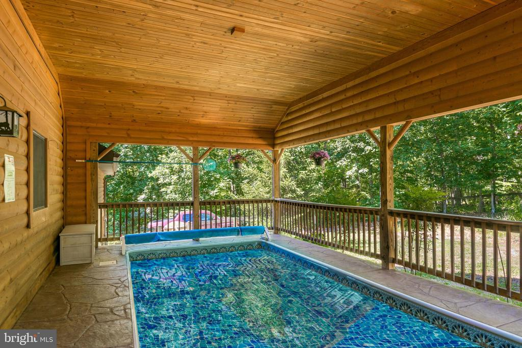 Covered Pool - 39505 STONESTREET FARM LN, ALDIE