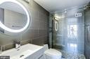 State-of-the-art bathroom - 1300 ARMY NAVY DR #922, ARLINGTON